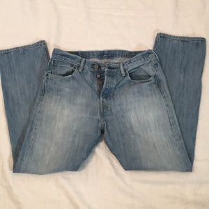 Classic Popular 501 Levi's Button Fly Jeans 32X30